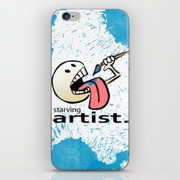 Starving Artist - Paint Eater iPhone Skin