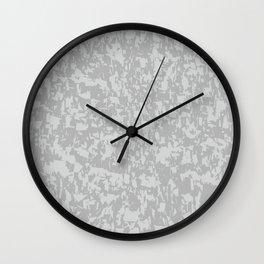 Zinc Plate Background Wall Clock