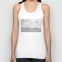 portugal Tank Tops featuring Beach (Portugal) by mojekris