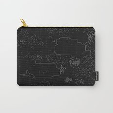 land of 15 towns and a cemetary · negative ⎌ Carry-All Pouch