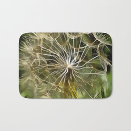 Tragopogon Wildflower Salsify Bath Mat
