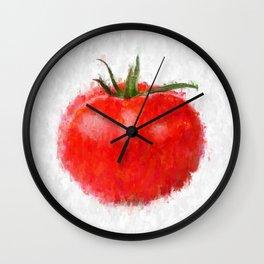 Big Tomato Wall Clock