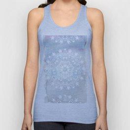 pastel lace design Unisex Tank Top