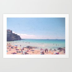 A Perfect Mallorca Day Art Print