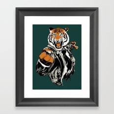 Belligerent Bengal Framed Art Print