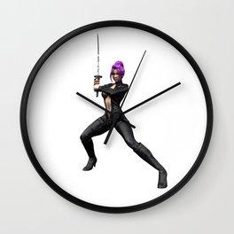 Lady Shiva Wall Clock