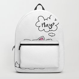 Samoyed dog Puppy Doggie Gift Present Dow-Owner Backpack