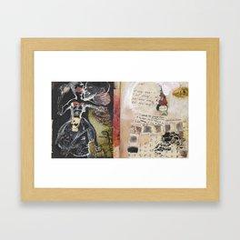 Private Names Framed Art Print