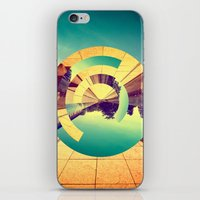 office iPhone & iPod Skins featuring L'Infinito by Victor Vercesi