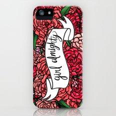 girl almighty iPhone (5, 5s) Slim Case
