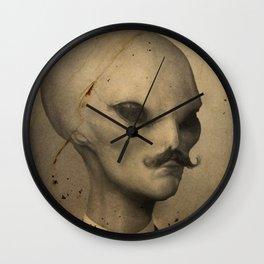 Ye Olde Alien Wall Clock
