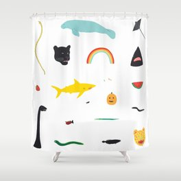 Great Gathering Shower Curtain