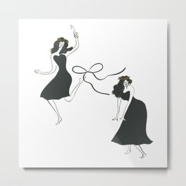 dance at this moment Metal Print