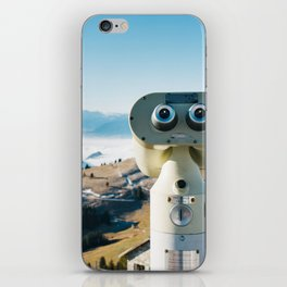 Alps of Switzerland Viewpoint iPhone Skin