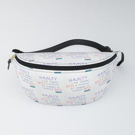 Humility Fanny Pack