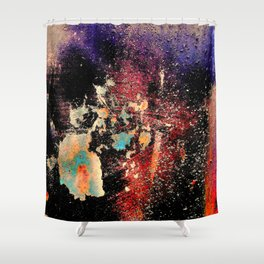 Hull Of An Abstract Shower Curtain