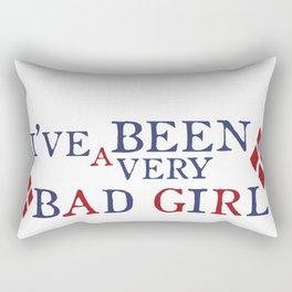 Bad Girl Rectangular Pillow