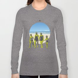 Summer on a Radioactive Beach Long Sleeve T-shirt