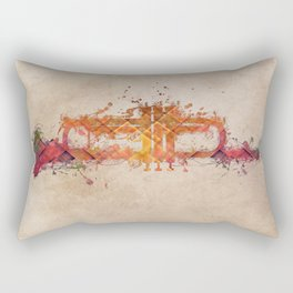 Trumpet Rectangular Pillow