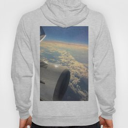 Sun And Clouds From Plane Hoody