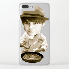 Chef Beiber Clear iPhone Case