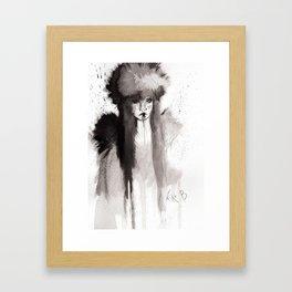 Inteligencia militar (sketch version) Framed Art Print