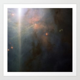 Nebula NGC 2023, Orion Constellation Art Print