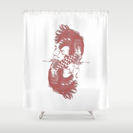 punk2 Shower Curtain