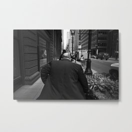 The Fatman Rises Metal Print