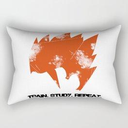 Gohan - Train. Study. Repeat. Rectangular Pillow