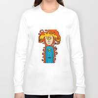 super hero Long Sleeve T-shirts featuring Joe Pansa Super Hero by Joe Pansa