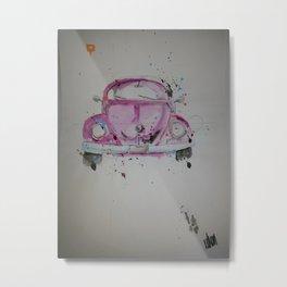 fusca Metal Print