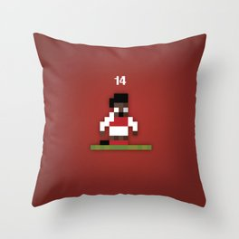 Thierry Henry Sensible Soccer Style Throw Pillow
