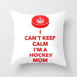 a225be455 Hockey Mom Throw Pillows | Society6