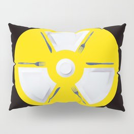 Polluted - Dinner Time Symbol Pillow Sham