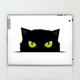 Black cat follow you #society6 #decor #buyart #artprint Laptop & iPad Skin