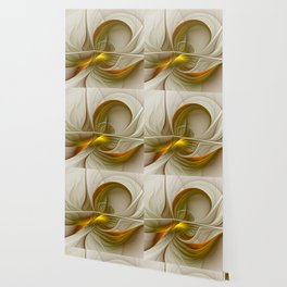 Abstract With Colors Of Precious Metals 2 Wallpaper