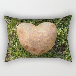 Heart Shaped Potato Rectangular Pillow