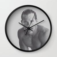 mickey Wall Clocks featuring Mickey by vooduude