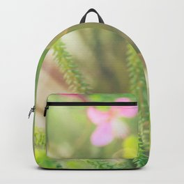 Where the Fairies Play - Botanical Photography #Society6 Backpack