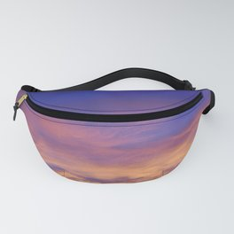COME AWAY WITH ME - Autumn Sunset #1 #art #society6 Fanny Pack