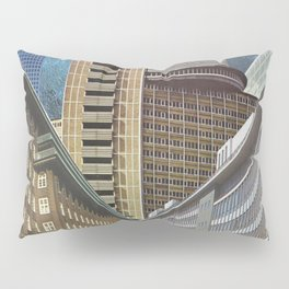 Urban Transportation Pillow Sham