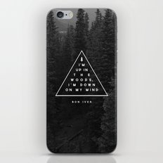 Woods -- Bon Iver iPhone & iPod Skin