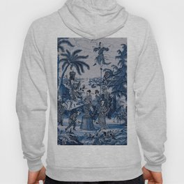 17th Century Delftware Chinoiserie Hoody