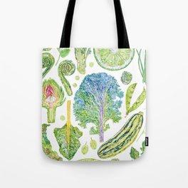 Harvest of Green Tote Bag