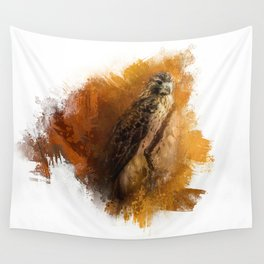 Expressions Red Tailed Hawk Wall Tapestry