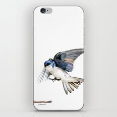 Swallows iPhone & iPod Skin