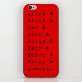 The main characters of The Magicians iPhone Skin