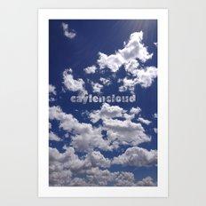 CaylenCloud. Art Print