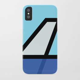 Lonely Travels - 787 iPhone Case